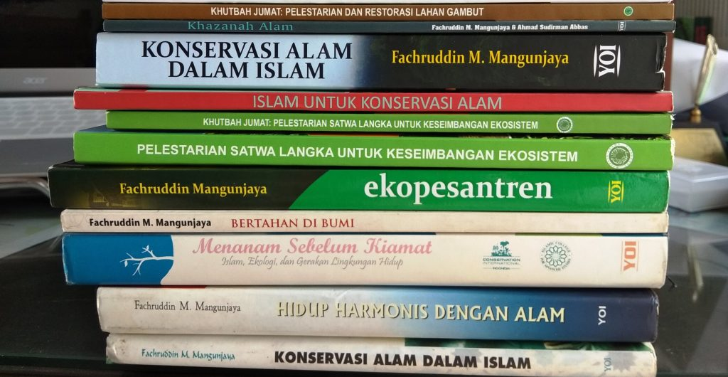 Buku buku karya Fachruddin Mangunjaya